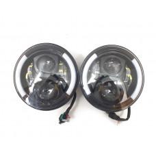 Фара светодиодная LS78 головного света для ВАЗ НИВА, УАЗ и др (комплект 2 шт) 60W