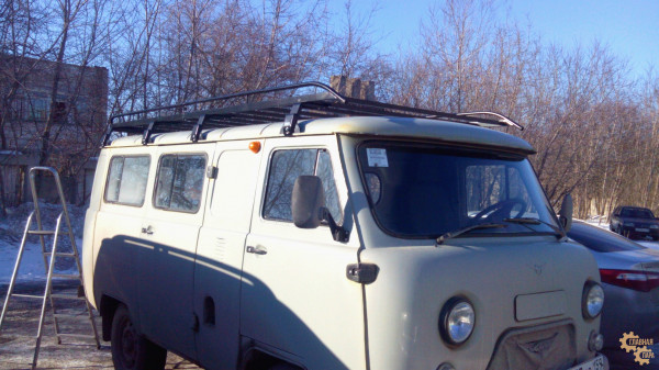 Багажник грузовой ЕВРОДЕТАЛЬ для УАЗ Буханка