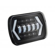 Светодиодные фары 7х6 головного света S54 55W для Jeep Wrangler YJ, Jeep Cherokee XJ, Toyota Pickup