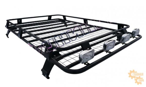 Багажник УНИКАР для ВАЗ-2131 сварной с сеткой на 4-х опорах