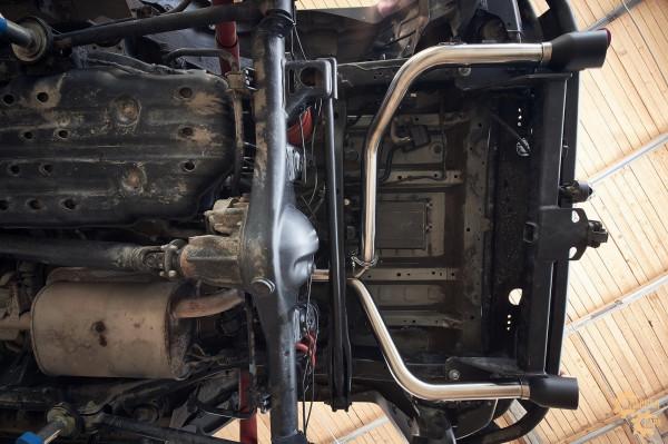 Выхлопная система (кетбек) Toyota FJ Cruiser