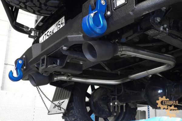 Выхлопная система (кетбек) УАЗ Патриот 2016-
