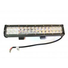 Двухрядная LED балка CH019B сверх-дальнего света, мощность 18-288W, длина 9-132см, светодиоды 3W, линзы 5D