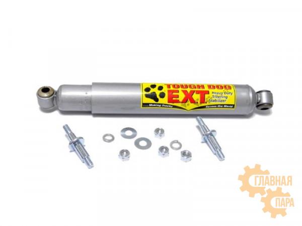 Демпфер (стабилизатор) рулевой Tough Dog EXT 5001 для УАЗ Патриот, Хантер, Toyota Land Cruiser