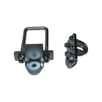 Комплект для крепления рулевого демпфера на УАЗ 3163 Патриот, Хантер, УАЗ 452 Буханка, УАЗ 469. (ухо-ухо)