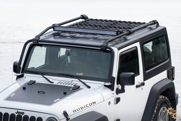 Багажник алюминиевый BMS Engineering на крышу Jeep Wrangler JK 3 двери