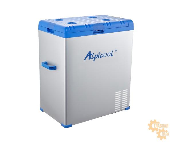 Kомпрессорный автохолодильник ALPICOOL А-75 л, 12/24/220В (крышка на защелке)
