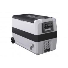 Kомпрессорный автохолодильник ALPICOOL T-50 л, 12/24/220В (двухсекционная мобильная версия)