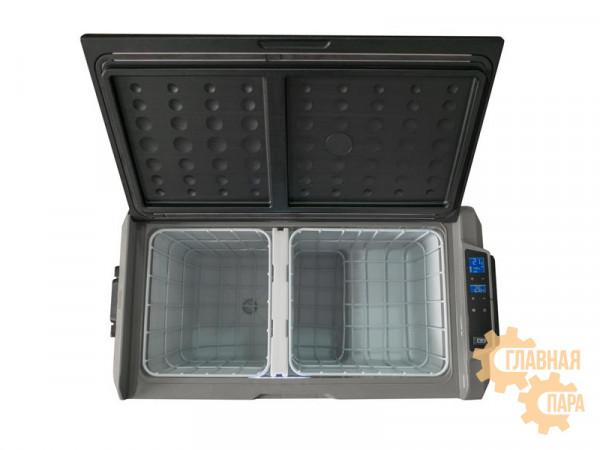 Kомпрессорный автохолодильник ALPICOOL T-60 л, 12/24/220В (двухсекционная мобильная версия)