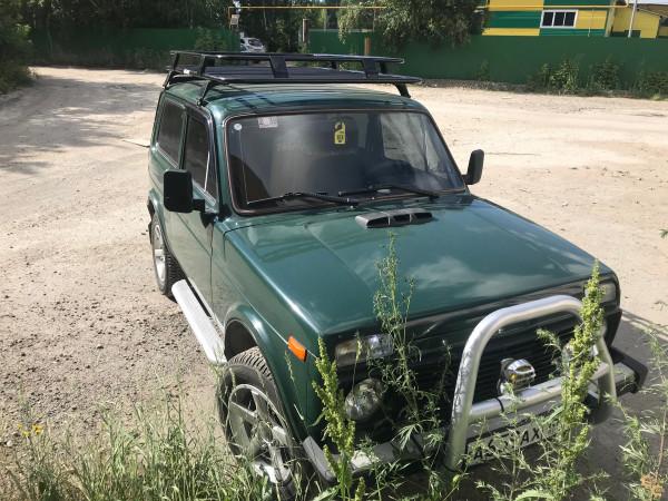 Багажник УНИКАР сварной для ВАЗ 2121 Нива