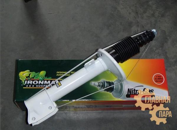 Амортизатор задний Ironman для Renault Duster 2010+ лифт 35 мм (газ)