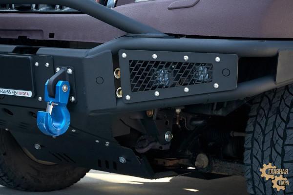 Бампер силовой передний BMS ALFA для Тойота Прадо 150 2009-2017