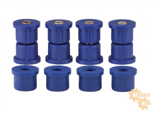 Втулки рессоры Ironman 704UK полиуретановые для Nissan Navara D21 1985-1996, D22 / NP300 1997-2014