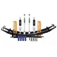 Комплект подвески Ironman для Nissan Navara D40 (4cyl дизель и V6 бензин) нагрузка перед до 50 зад до 300 кг лифт 35-40 мм (газ)