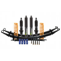 Комплект подвески Ironman PRO для Nissan Navara D40 (4cyl дизель и V6 бензин) нагрузка перед до 50 зад до 300 кг лифт 35-40 мм (масло)