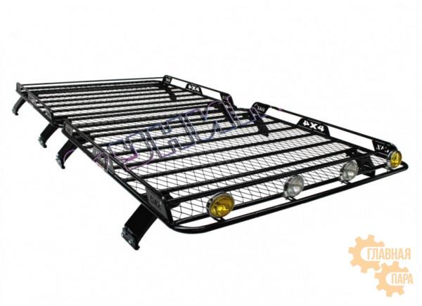 Багажник с боковым ограждением УНИКАР для УАЗ 452, 2206, 3962