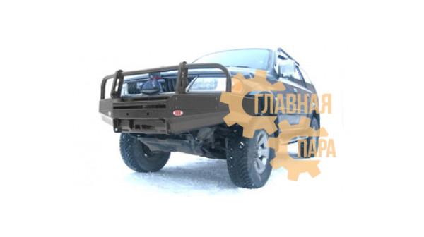 Бампер передний силовой OJ 02.002.01 на Mitsubishi Pajero Sport 1