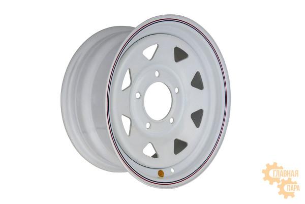 Диск усиленный ВАЗ НИВА стальной белый 5x139,7 7xR15 d98,5 ET+25 (треугольник)