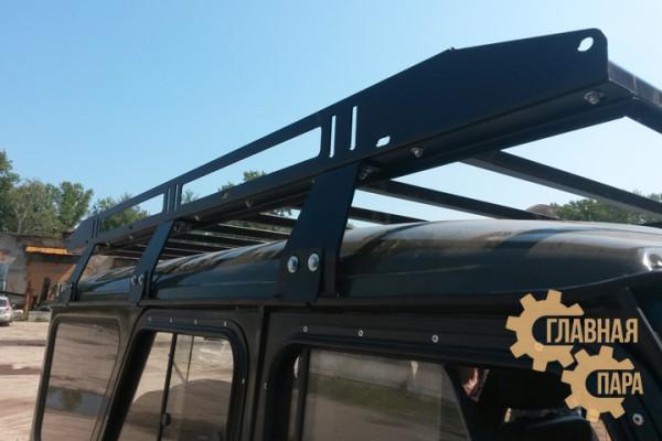 Багажник OJ 01.260.10 разборный высокой грузоподъёмности на УАЗ 3151 Хантер (2100х1400мм)