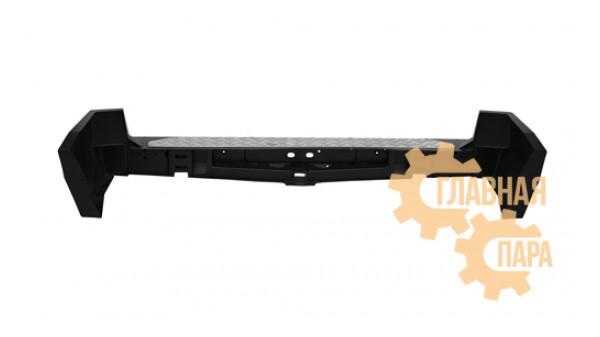 Задний силовой бампер OJ 03.119.01 для Nissan Patrol Y61 2004+ с квадратом под фаркоп