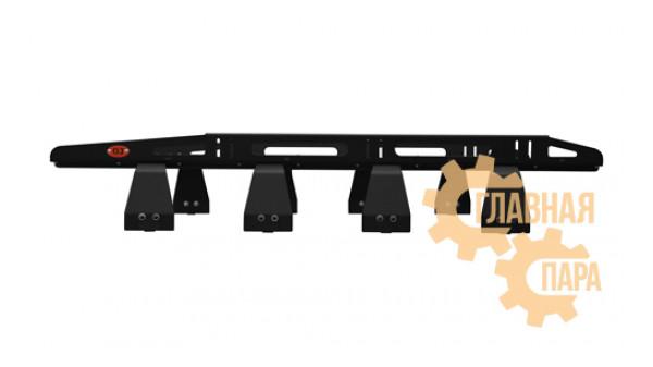 Багажник алюминиевый крашеный разборный 8-ми опорный 2,1х1,4м, 20кг