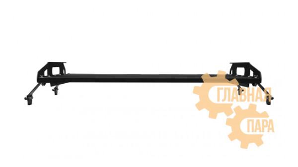 Багажник алюминиевый крашеный разборный 4-х опорный 1.2х1.2 м