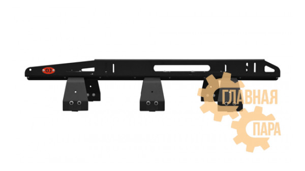 Багажник алюминиевый крашеный разборный 6-ти опорный, 1,7х1,3м