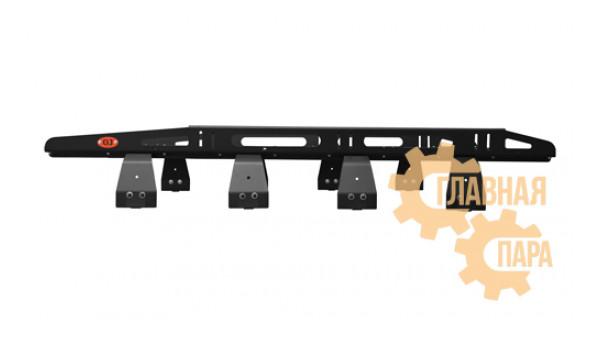 Багажник алюминиевый крашеный разборный 8-ми опорный, 2,1х1,3м