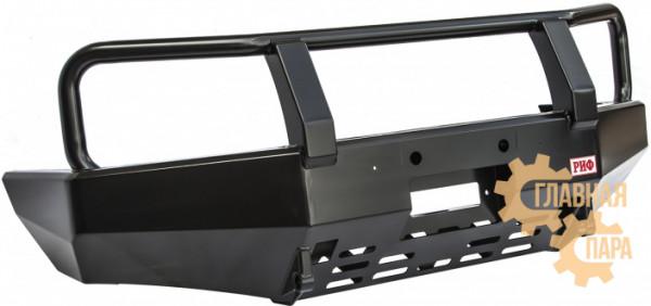 Бампер передний силовой РИФ RIFRAN-10300 на Ford Ranger T5 с защитной дугой
