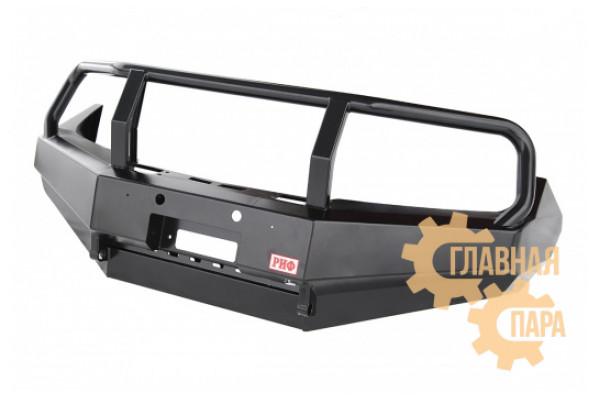 Бампер передний силовой РИФ RIFD40-10300-10 на Nissan Navara D40 и Pathfinder R51 2010+ с защитной дугой