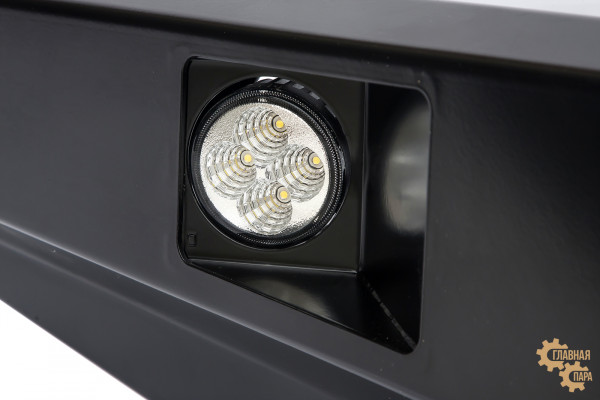 Бампер передний силовой РИФ RIFD40-10356 на Nissan Navara D40 и Pathfinder R51 до 2010 с фарами