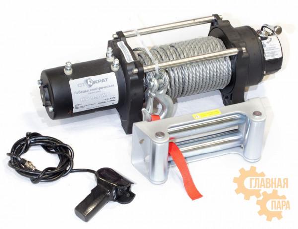 Лебедка электрическая СТОКРАТ HD 9.5 WP 12V 4309 кг