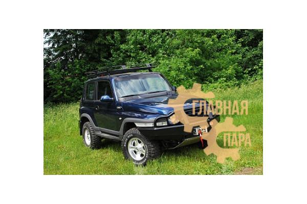 Бампер передний силовой РИФ RIFTGZ-10000 на Tagaz Tager с защитной дугой