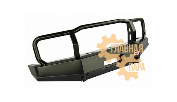 Бампер передний силовой РИФ RIF076-10300 на Toyota Land Cruiser 76/78 2007+ с защитной дугой