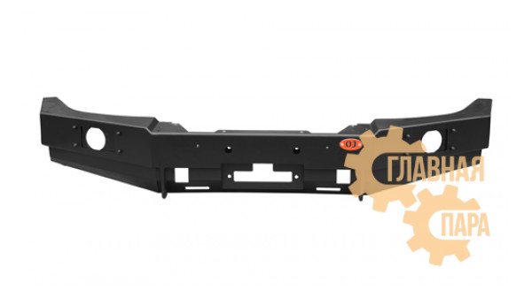Бампер передний силовой OJ 02.003.21 на УАЗ Патриот 2015+ под штатные ПТФ