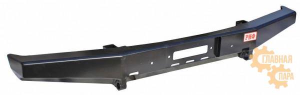 Бампер передний силовой РИФ RIF469-10601 на УАЗ Хантер (усиленный)