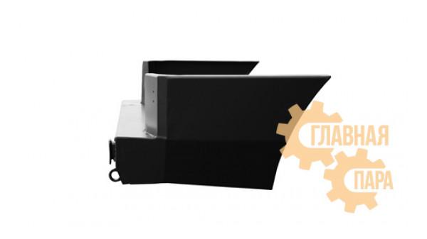 Задний силовой бампер OJ 03.111.51 с квадратом под фаркоп для УАЗ Патриот в т.ч. рестайлинг 2014-