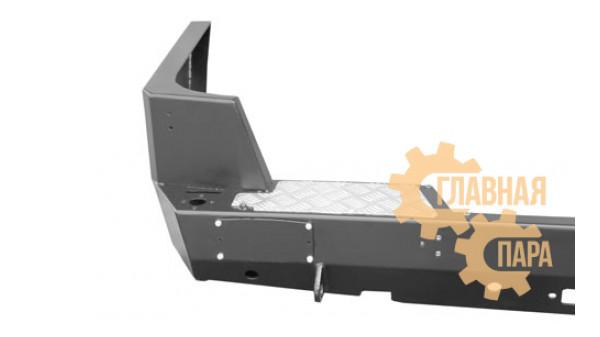 Задний силовой бампер OJ 03.104.01 для УАЗ Патриот в т.ч. рестайлинг 2014-