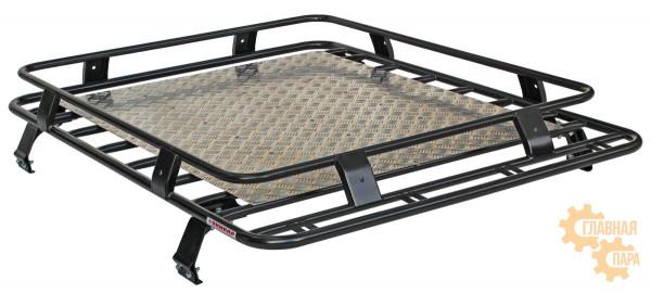 Багажник УНИКАР сварной с алюминиевым листом для ВАЗ 2121 Нива