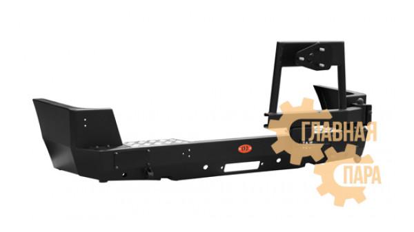 Задний силовой бампер OJ 03.104.09 для УАЗ Патриот в т.ч. рестайлинг 2014-