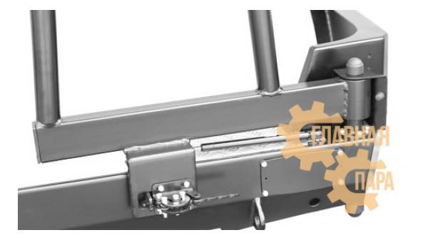 Задний силовой бампер OJ 03.104.03 для УАЗ Патриот в т.ч. рестайлинг 2014-