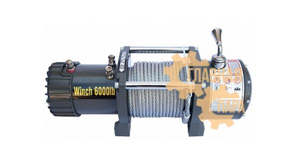 Автомобильная электрическая лебедка CM Winch CM6000 12V 2730 кг.
