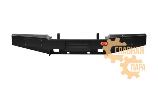 Бампер передний OJ 02.203.01 на УАЗ Хантер лифт кузова 65мм