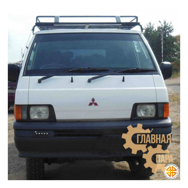 Багажник экспедиционный Б115.03 на Mitsubishi Delica P25W 1996 г. с сеткой