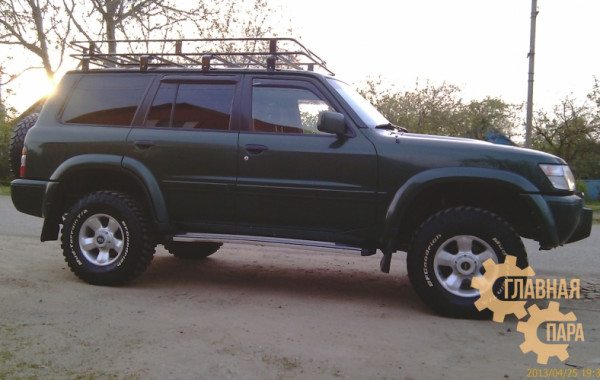 Багажник экспедиционный Б31.02 на Nissan Patrol Y60/Y61 5 дверный