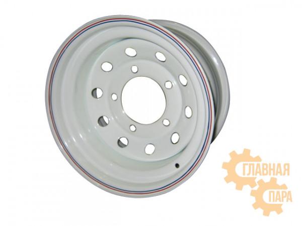 Диск усиленный УАЗ стальной белый 5x139,7 7xR15 d110 ET-3