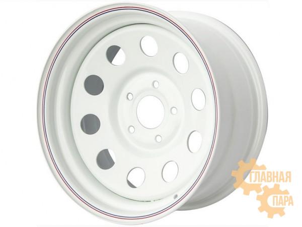 Диск усиленный УАЗ стальной белый 5x139,7 8xR15 d110 ET-3