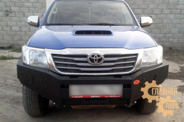Бампер передний силовой OJ 02.011.01 на Toyota Hilux 2011-2015