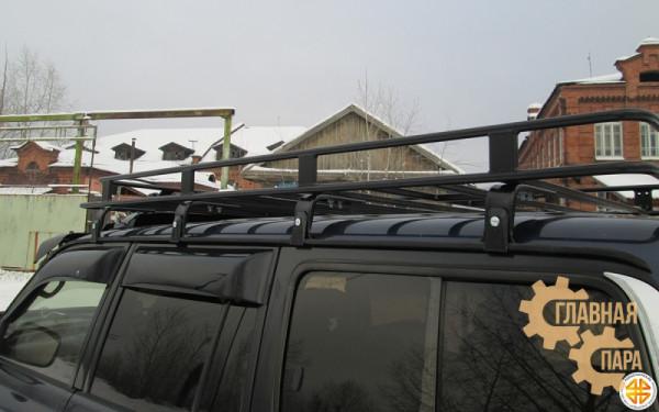 Багажник экспедиционный Б12.02 на TLC 80 (2200х1200х120мм)
