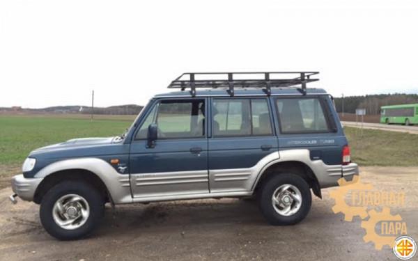 Багажник экспедиционный Б06.03 на Toyota Prado 70, 78 (5 дверный) с сеткой